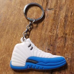 Air Jordan 12 keychain